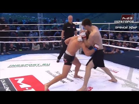 Нэйт Ландвер vs Хамзат Далгиев highlights, M-1 Challenge 95