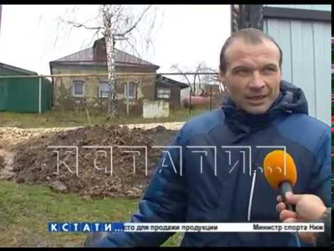 В Павлове новую дорогу проложили так, что перекрыли подъезд к жилым домам