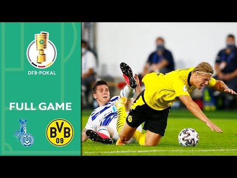 MSV Duisburg Vs. Borussia Dortmund 0-5 | Full Game | DFB-Pokal 2020/21 | 1st Round