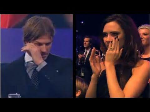 David & Victoria Beckham Shed Tears Over...