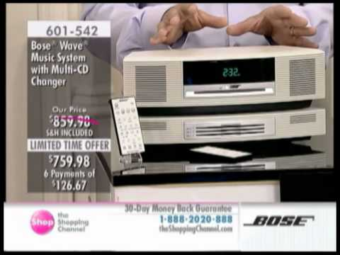 The Shopping Channel - Bose Wave Music System with Multi-CD Changer