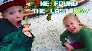 We Found the Last Key From Mr. E At SeaWorld! We Were Right!