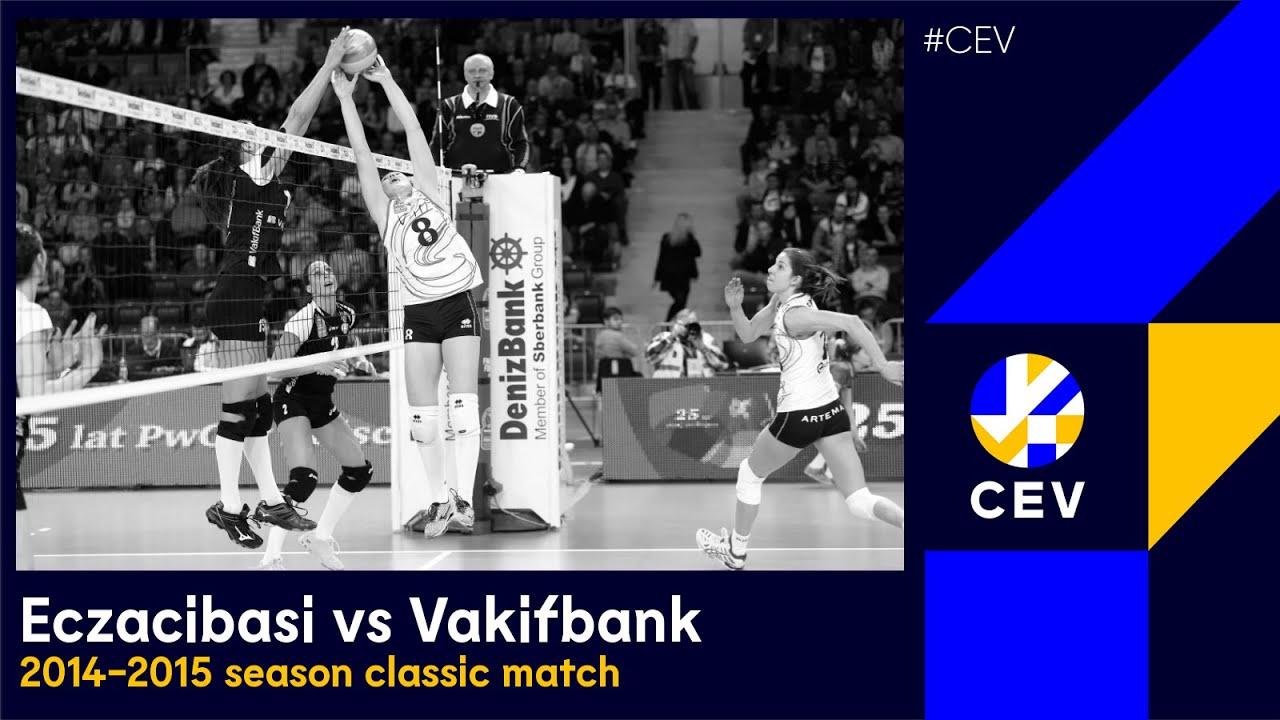 FULL MATCH: VakifBank ISTANBUL vs Eczacibasi VitrA ISTANBUL - 2015  #CLVolleyW Semi-finals