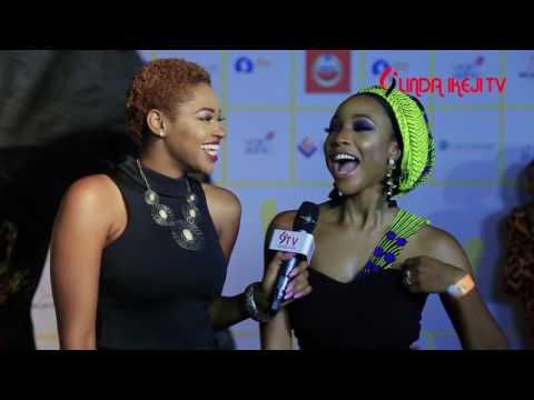Linda Ikeji TV's On The Red Carpet at Isoken movie premiere