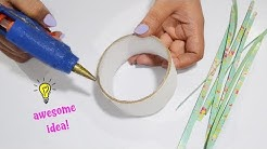 How to make room decor with Empty Tape Roll| How to recycle tape roll| Best reuse idea with tape