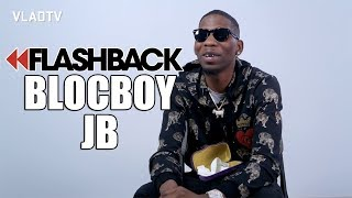 BlocBoy JB on His Dad Getting 25 Years and Breaking Out of Prison (Flashback)