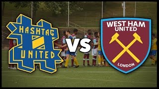 Hashtag united vs west ham united staff