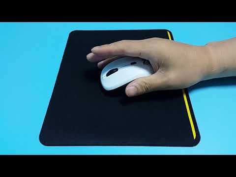 스카이디지탈 NKEYBOARD W570 무선키보드 마우스 세트 (화이트) 마우스 테스트 영상