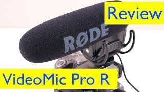 Rode Videomic Pro R Rycote Review and Test - vs Rode VideoMicro and iPhone
