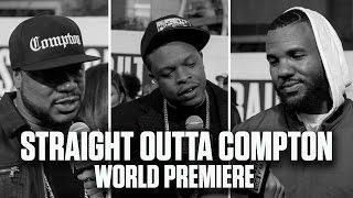 Xzibit, The Game, & Dr. Dre's Son Talk 'Straight Outta Compton'