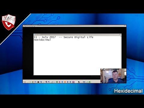 Hexidecimal - Secure Digital Life #25