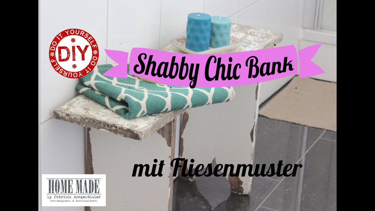 how to i shabby chic bank aufpimpen fototransfertechnik i deko inspirationen selbstgemacht. Black Bedroom Furniture Sets. Home Design Ideas