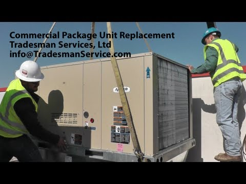 Commercial Packaged Air Conditioning Unit Replacement