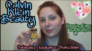 Calvin Klein Beauty, Springtime Fragrance: Saturday Fragrance Shakedown
