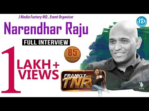 J Media Factory MD, Event Organiser Narendhar Full Interview