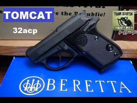Beretta Tomcat 32acp Pistol