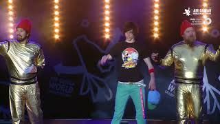 "Matt ""Airistotle"" Burns (USA) Air Guitar World Champion 2017 Video"