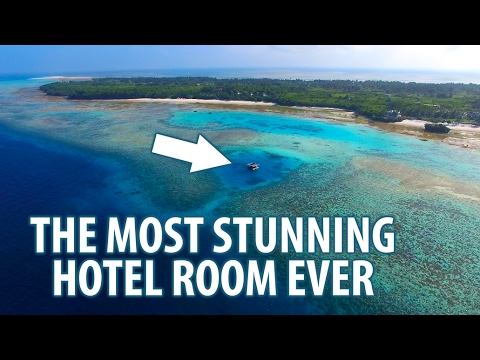 THE MOST STUNNING HOTEL ROOM | The Manta Resort: Underwater Room | Pemba Island