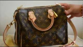 Louis Vuitton Speedy Bandouliere 25 (with shoulder strap) review & what fits