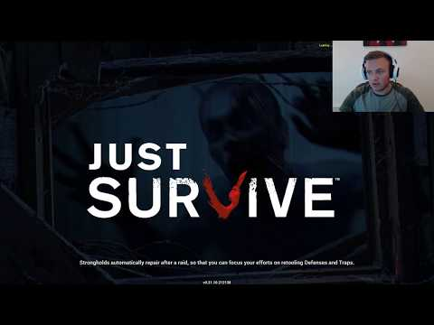 Base Building from Scratch - Just Survive - LIVE Replay