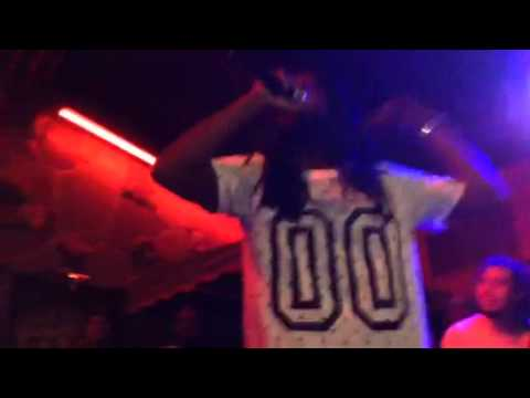 Smoke Supreme performing ny new sing Spike Lee live from the Players Club Halloween night