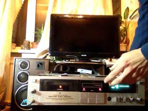Финал. Ремонт магнитофона Яуза мп 221с + тест на запись.
