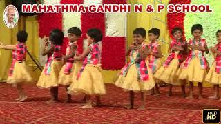 Mahathma Gandhi Schools - Singapenne song Dance