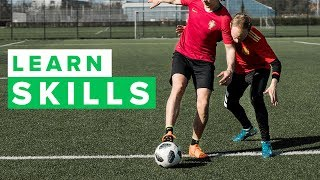 Learn cool simple football skills from a pass