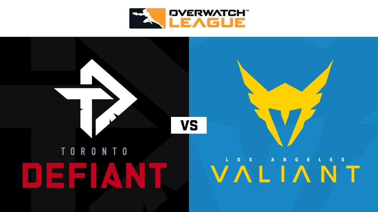 Knockout C Toronto Defiant Vs Los Angeles Valiant Summer Showdown Na Day 1 Youtube
