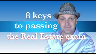 8 keys to passing the real estate exam