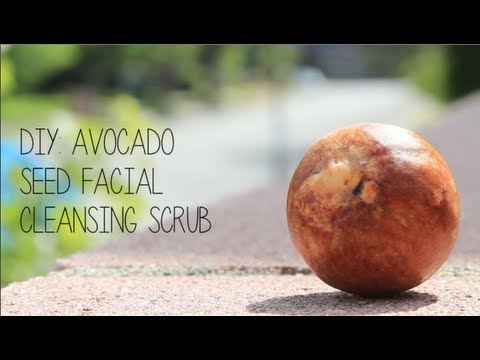 DIY: Avocado Seed Facial Cleanser (EASY)