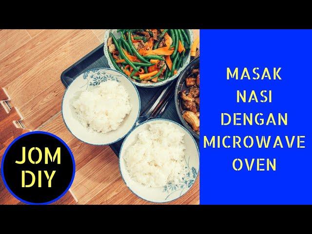 Masak Nasi Dengan Microwave Jomdiy Youtube
