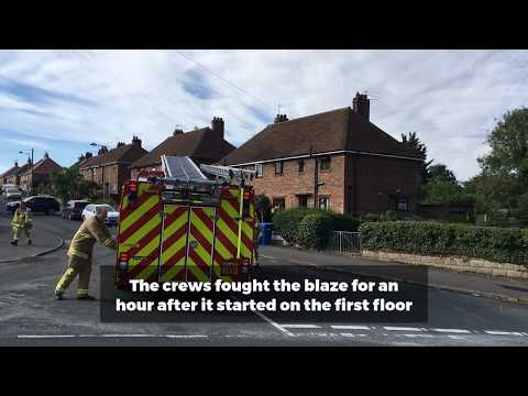 Four fire crews called to house fire in Beccles