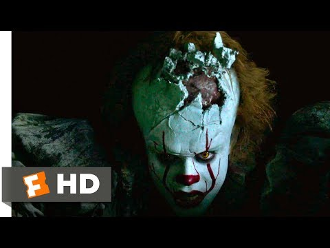 It (2017) - Fighting Pennywise Scene (10/10) | Movieclips