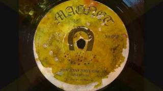 Gene Rondo - How Many Times Girl - Magnet