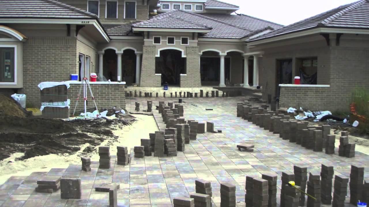 Jacksonville New Construction Brick Paver Driveway ...