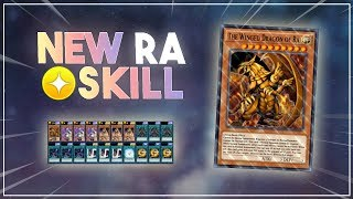 NEW SKILL: WINGED DRAGON OF RA + POWER OF THE TRIBUTED [Yu-Gi-Oh! Duel Links]