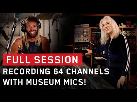 Galaxy 64, Sylvia Massy and Her Microphone Collection - Recording Session ft. Taylor Hawkins