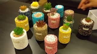 FLORASHOW Succulent Pots,Ultra-Breathable, water-permeable suitable for succulents, Cactus.