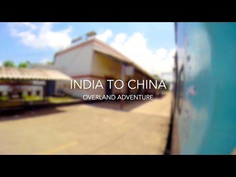 India to China Overland Adventure via Tibetan Plateau [HD GoPro]