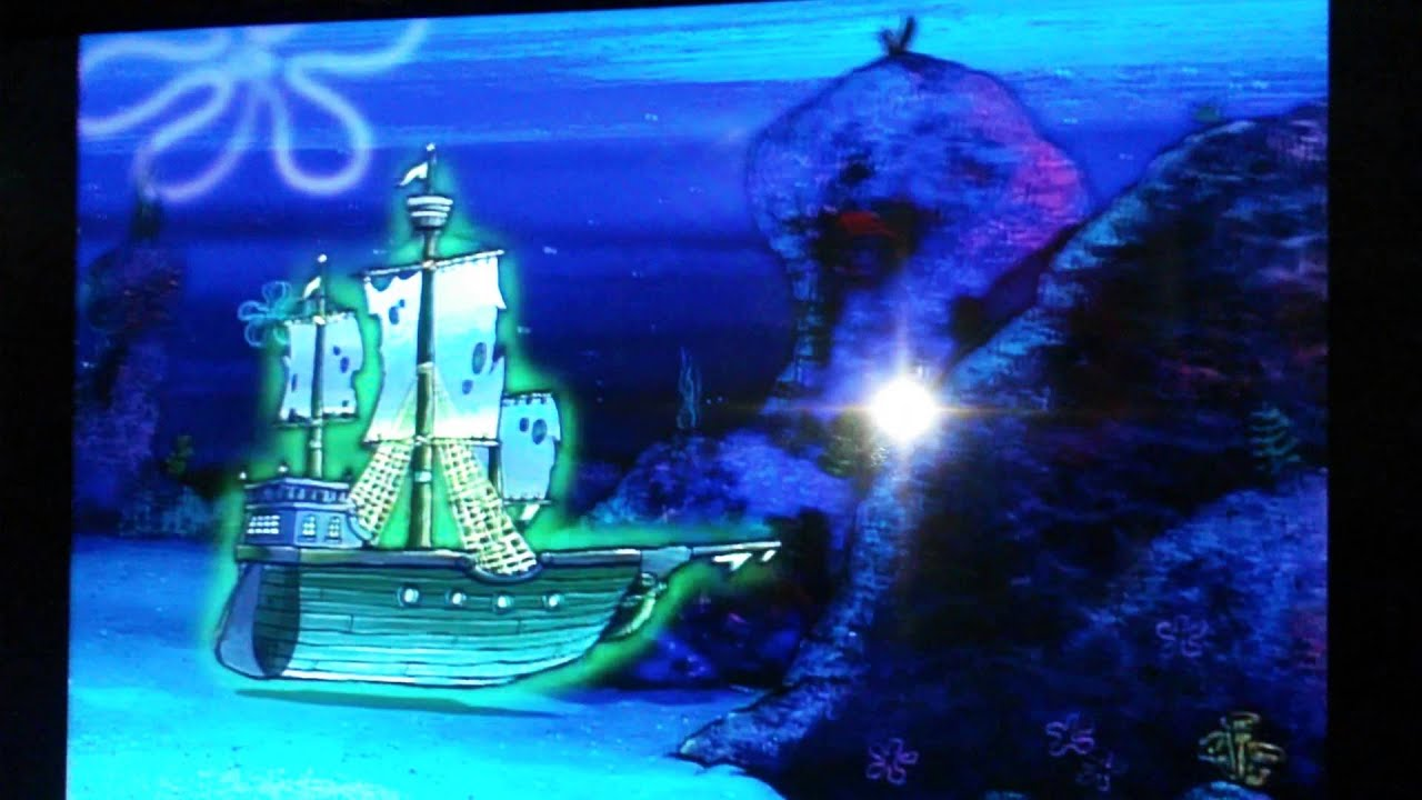 Patrick Destroys The Ship Of The Flying Dutchman Youtube