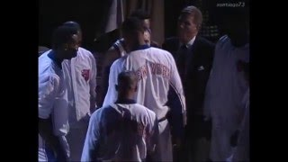 New York Knicks Introduction 1993 East Finals Game 2 vs Chicago Bulls