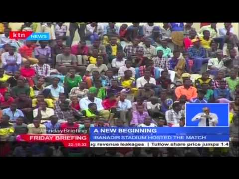 Somalia screens its first ever live football match