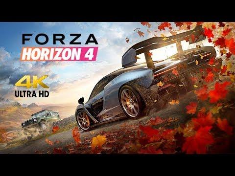 [4K] Forza Horizon 4 - Intro and First Race thumbnail