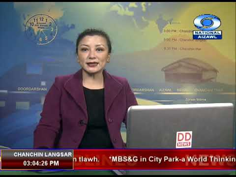 DD News Aizawl, 3 PM 23 February 2019