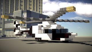 Minecraft Airbus Helicopters H160 Tutorial