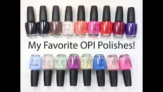 My Favorite OPI Polishes