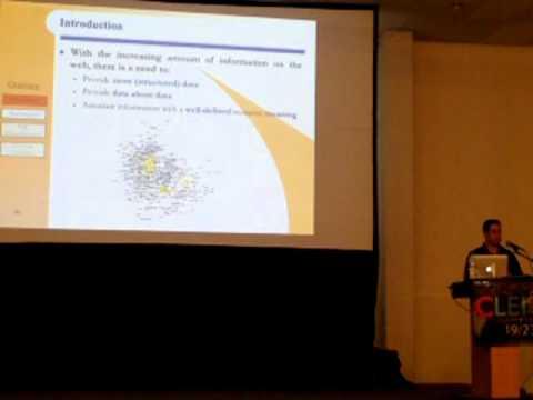 CLEI 2015 Dia 4 XML Semántica Disambiguation:  Antecedentes