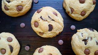 Американское печенье с шоколадом🍫за 15 минут🍫Chocolate chip cookie