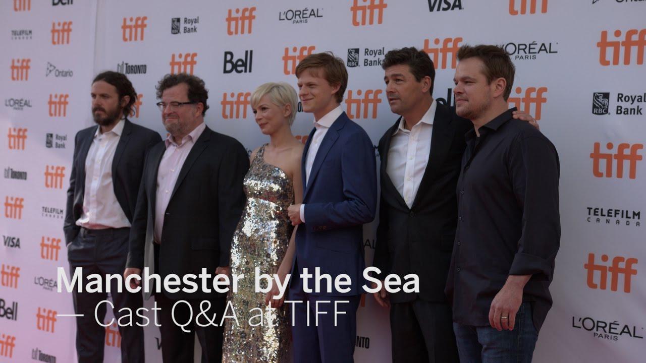 Manchester By The Sea Cast Q A Matt Damon Michelle Williams Casey Affleck Tiff 2016 Youtube